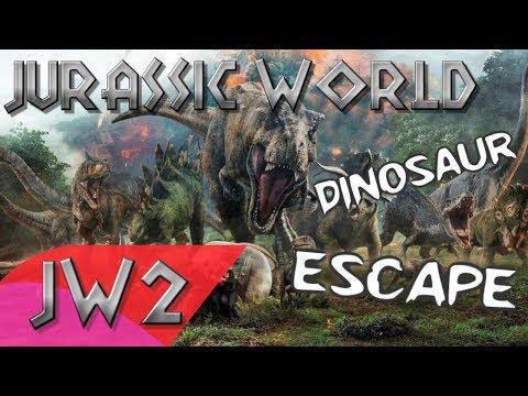 Jurassic World Dinosaur Escape - Music Video | Song by Mattel Action!
