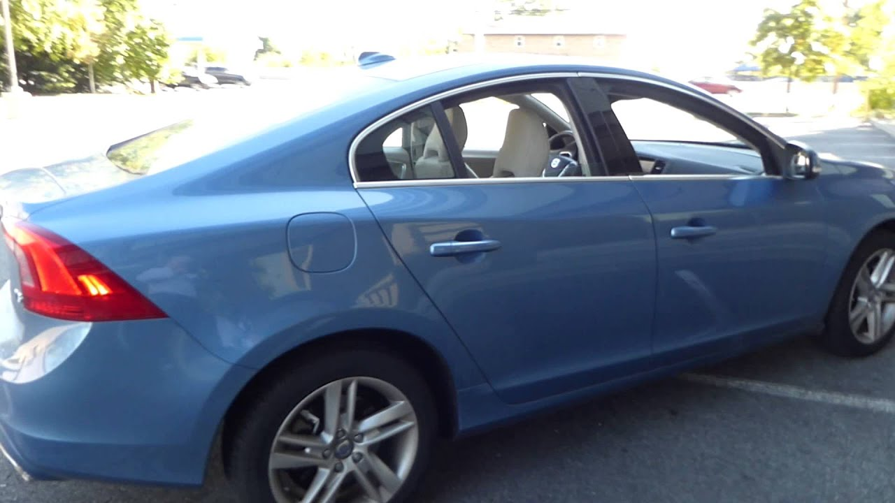 Volvos Power Blue Met Is A New Color For 2014 Youtube
