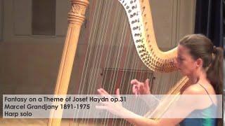 Fantasy on a Theme of Josef Haydn op.31- Marcel Grandjany played by Silke Aichhorn