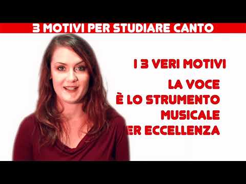 3 motivi per STUDIARE CANTO