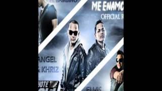 Angel y Khriz Ft Tito el Bambino y Elvis Crespo - Me enamore [Official Remix] NEW 2011.