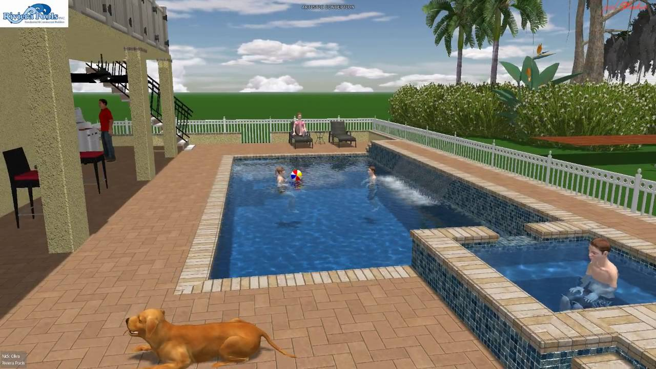 Riviera Pool s custom pool by riviera pools