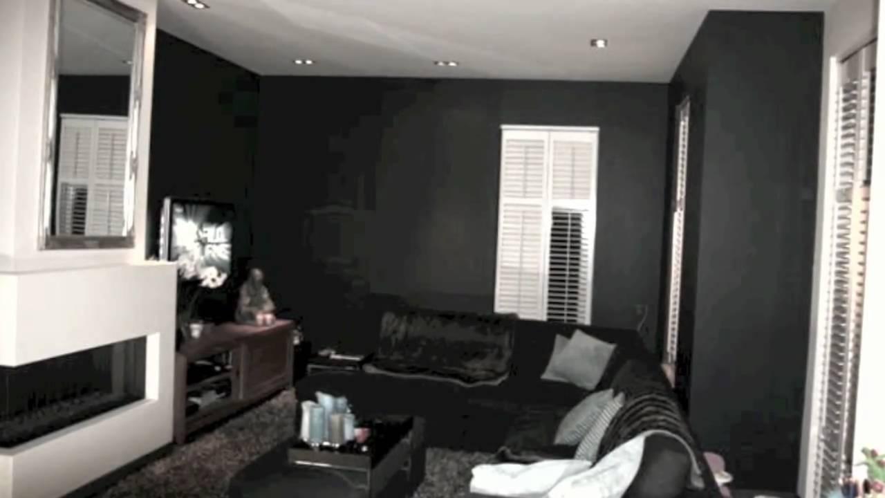 Woonkamer Zwarte Muur : Muur verven inspiratie kleur interieur wat zijn de kleur