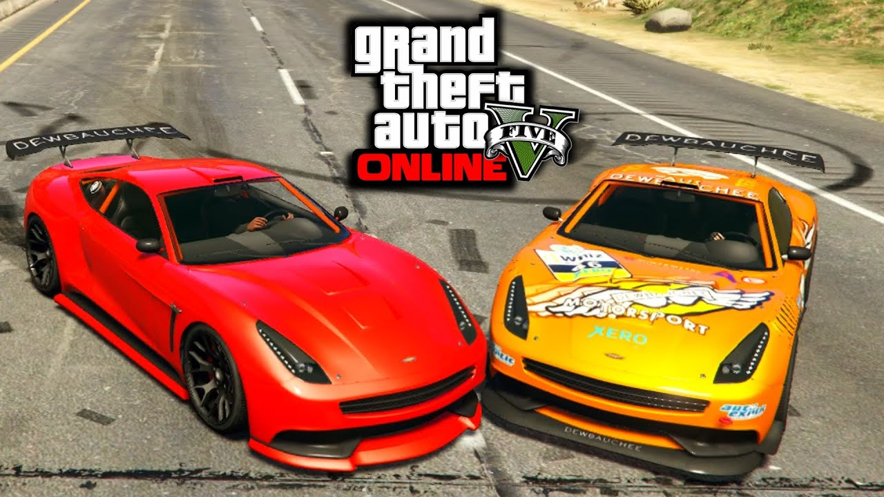 GTA 5 PS4 - NEW Jester | Massacro Racecar Vs Normal Jester ...