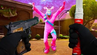REALISTIC FORTNITE - THE EASTER BUNNY (FIRST PERSON) Funny Moments