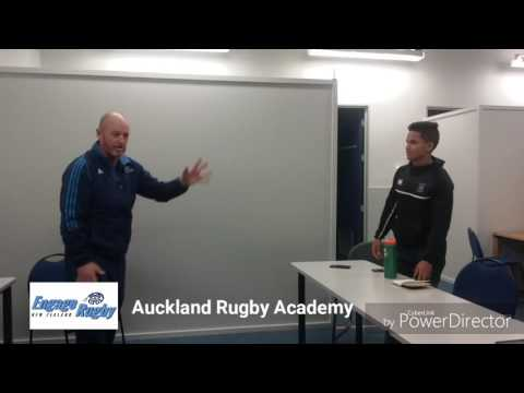 ERNZ - First five-eighths training at Auckland Rugby Int. Academy 1/2