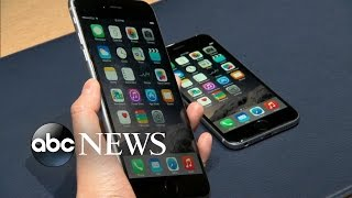 iPhone 6s and Apple TV at Apple Special Event 2015