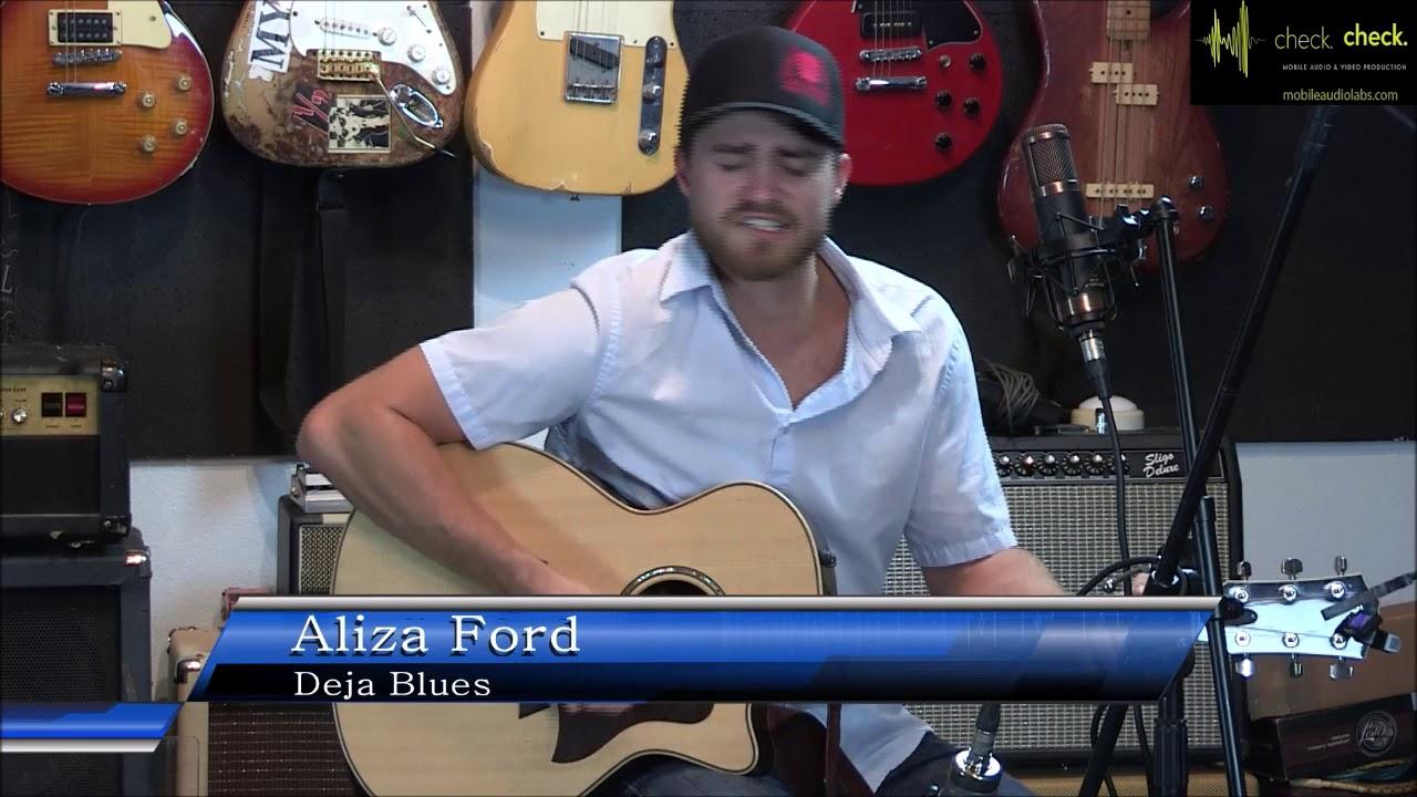 Aliza Ford Deja Blues Live On Etx Rocks Youtube