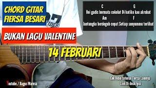 Chord gitar+lirik - Bukan lagu valentine | Fiersa Besari ( by bagusslaw)