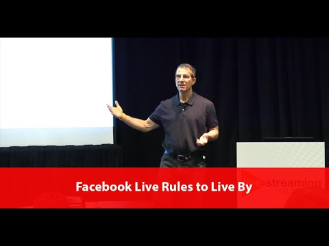 Facebook Live Rules to Live By