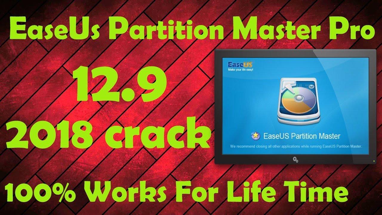 easeus partition manager crack full version