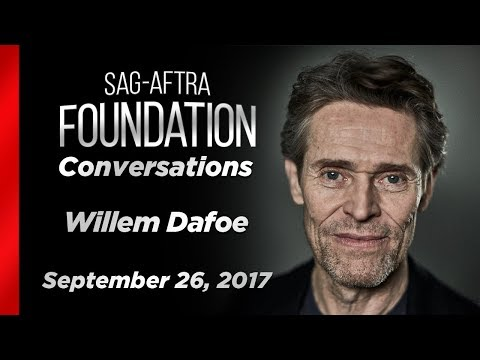 Conversations with Willem Dafoe