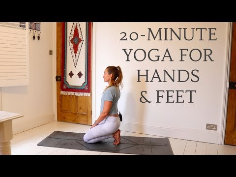 20-MINUTE STRETCHY YOGA FLOW | Hands & Feet | CAT MEFFAN