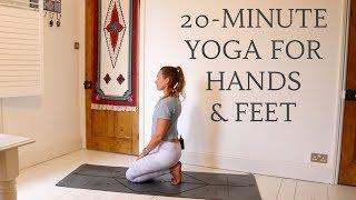 20-MINUTE STRETCHY YOGA FLOW   Hands & Feet   CAT MEFFAN