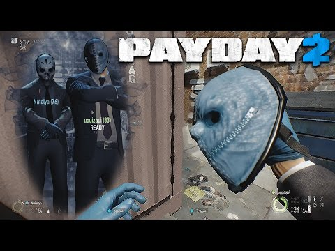 Payday 2 - Jewelry Store - Very Hard/Stealth Gameplay PC |