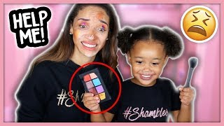 Hey guys! Today I'm letting my two-year old Ziya try her hand at do...