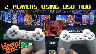 BleemSync on PlayStation Classic: How to play 2 Player using USB HUB