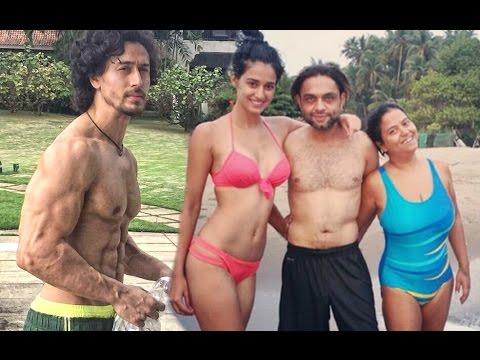 Disha Patani In Bikini With Tiger Shroff...
