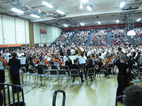 Moorhead Middle school orchestra 2010 3