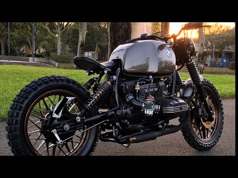 BMW Scrambler Full Timelapse Build (R80RT)