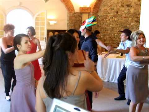YMCA BALLI MATRIMONIO GIOCHI BOLLE KARAOKE MUSICA DJ ALEX E CLAUDIA MILANO COMO RHO