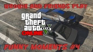 GTA 5 Online :: Funny Moments #4 (Grimace Mobile, Epic Train Miss, and More)
