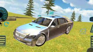 Benz s600 drift simulator