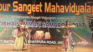 Khatak Dance Performed by Student of Jaipur Sangeet Mahavidyalaya k
