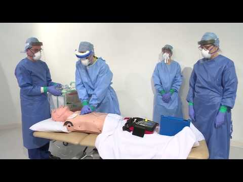 Manual Chest compressions