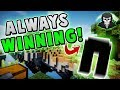 THE SECRET TO ALWAYS WINNING! ( Hypixel Skywars FUNNY MOMENTS )