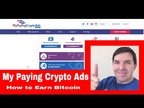 My Paying Crypto Ads Update And How I Earn Bitcoin In South Africa