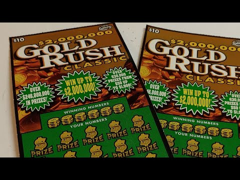 Florida Lottery: (2) $10 Gold Rush Classic