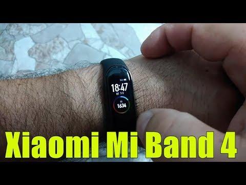 Обзор Xiaomi Mi Band 4 / Как настроить и синхронизировать с телефоном.