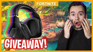 GAMEN MET OF BESTE HEADSET!! GIVEAWAY - Fortnite