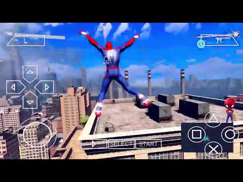 Sipder Man 2018 Video Game PPSSPP ISO Free Download