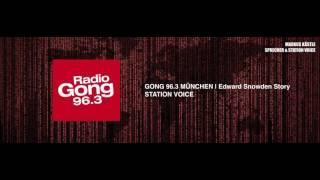 Sprecher Markus Kästle - Gong 96.3 Edward Snowden