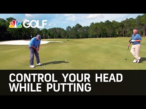 Control Your Head While Putting | Golf Channel