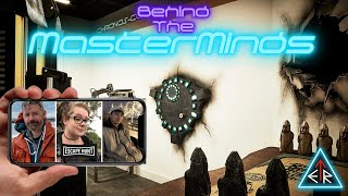 """EP55 - ESCAPETHEROOMers presents: Behind The MasterMinds w/ """"Escape Hunt"""""""