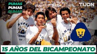 A 15 años del histórico Bicampeonato de Pumas | TUDN