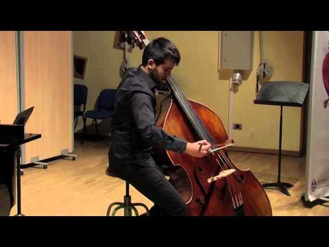 2015 Galicia Graves International Double bass Competition. Juan López