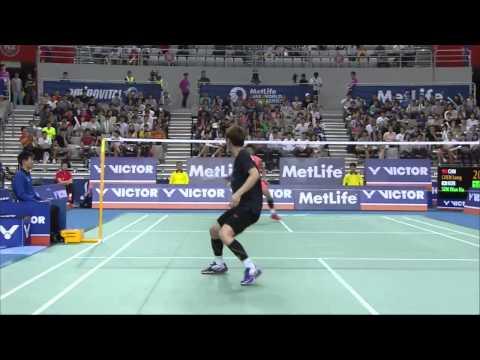 Victor Korea Open 2015 | Badminton QF M1-MS | Chen Long vs Son Wan Ho