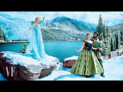 Behind-the-Scenes: FROZEN Vanity Fair Photo Shoot