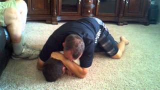 dan and mackay wrestling son owns dad