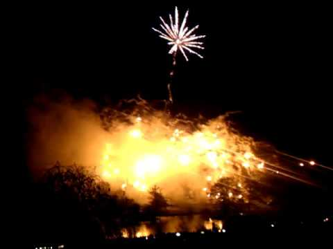 Fireworks at Dunorlan Park Tunbridge Wells November 2015