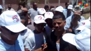 مواطن لمحافظ قنا: تعبنا من إلقاء مخلفات مصنع الفيبر على الترع وصحتنا راحت