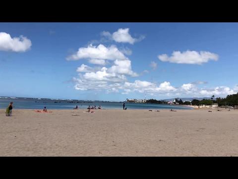 Ala Moana Beach Park Honolulu Hawaii 2017