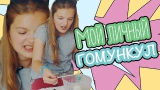 МОЙ ЛИЧНЫЙ ГОМУНКУЛ   Как в 12 лет вырастить гомункула   Homunculus experiment
