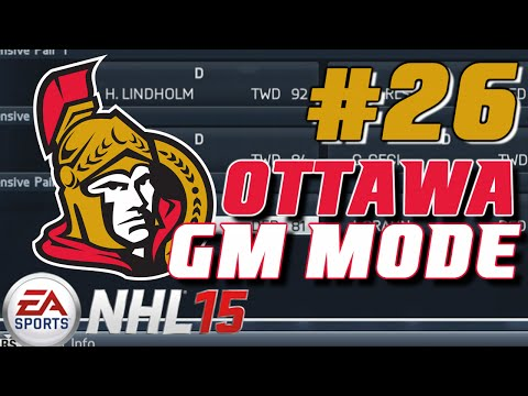 "NHL 15: GM Mode Commentary – Ottawa ep. 26 ""Year 4 Start"""