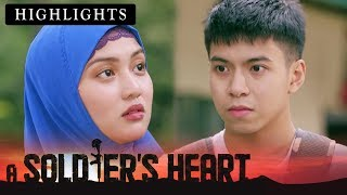 Isabel warns Michael from looking at other women | A Soldier...