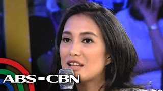Isabelle Daza shares experience as fast food resto crew